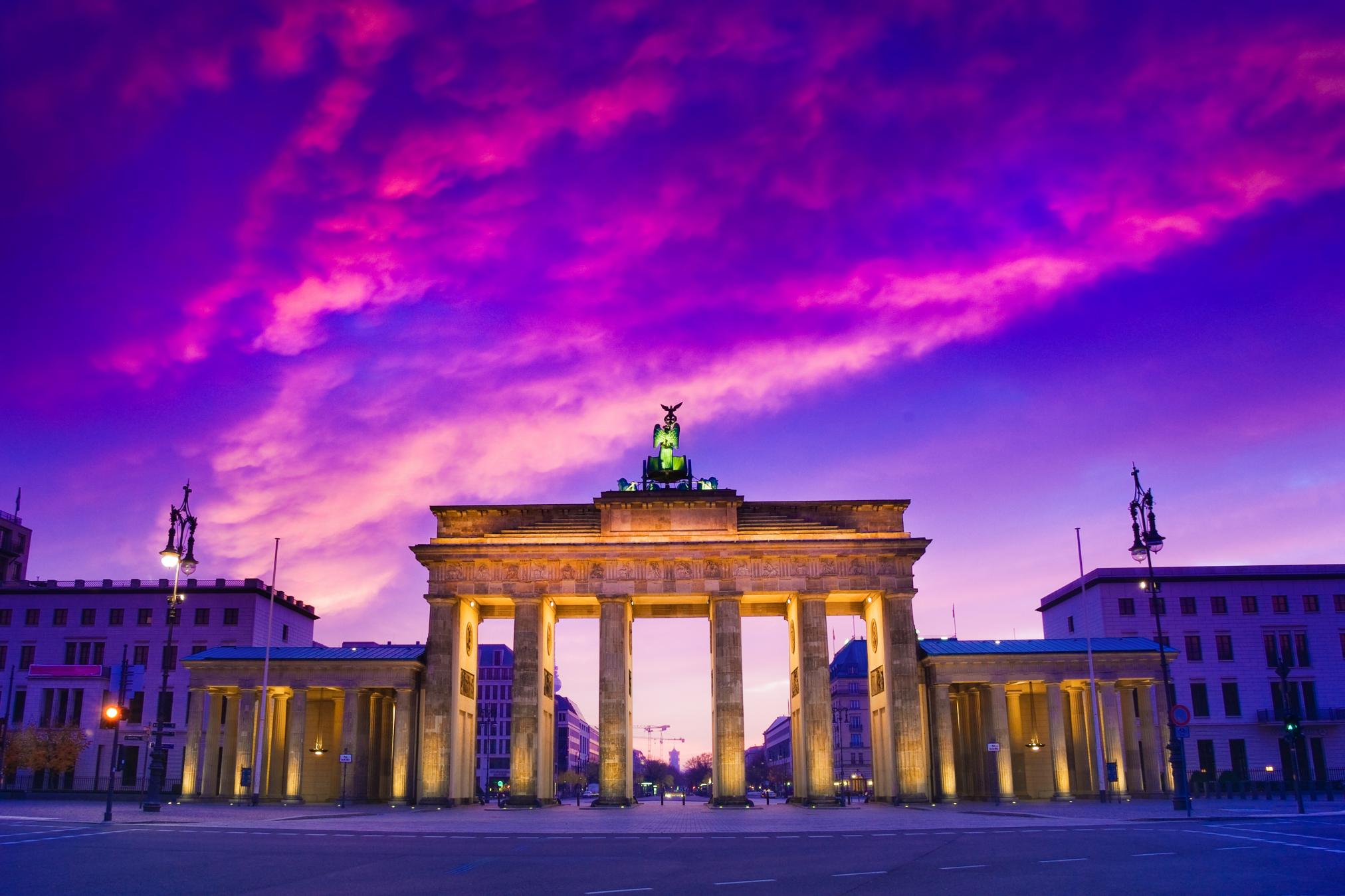 Brandenburg Gate Berlin Photo