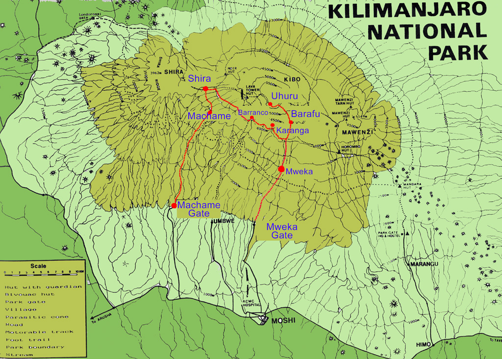 Mount Kilimanjaro, The Very Exotic Mountain and Safe Guide To Climb ...