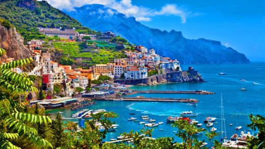 Amalfi Coast Beach Pictures