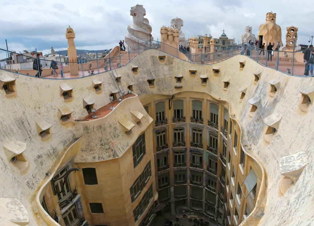 Casa Mila Roof Design