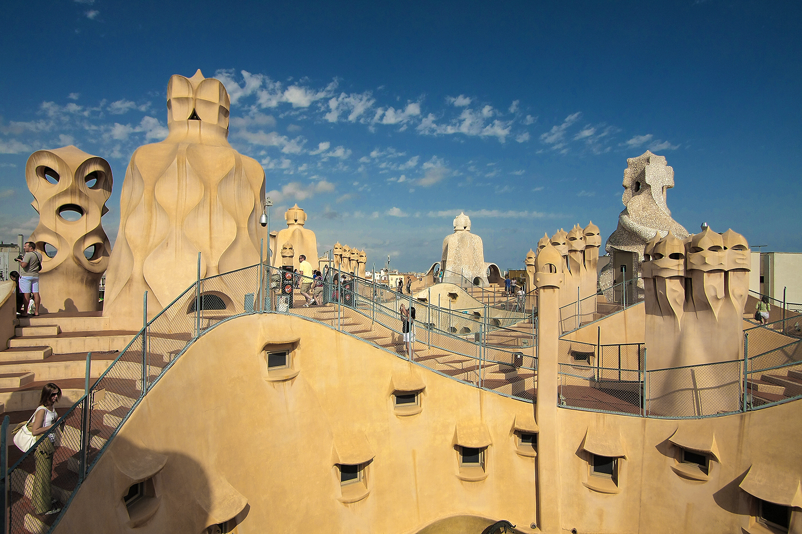Casa Mila Rooftop Photo