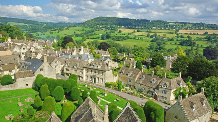 Cotswolds Aerial View