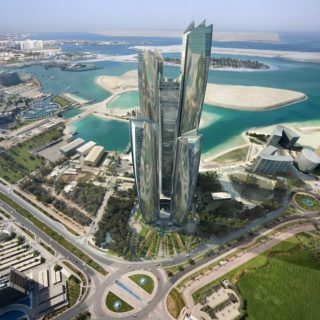 Etihad Towers Abu Dhabi United Arab Emirates