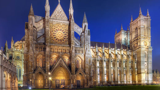Westminster Abbey At Night