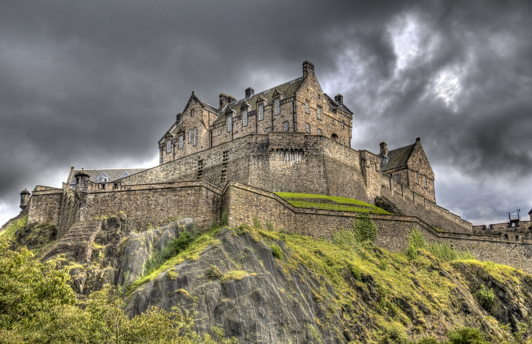 Edinburgh Castle Scotland Photography