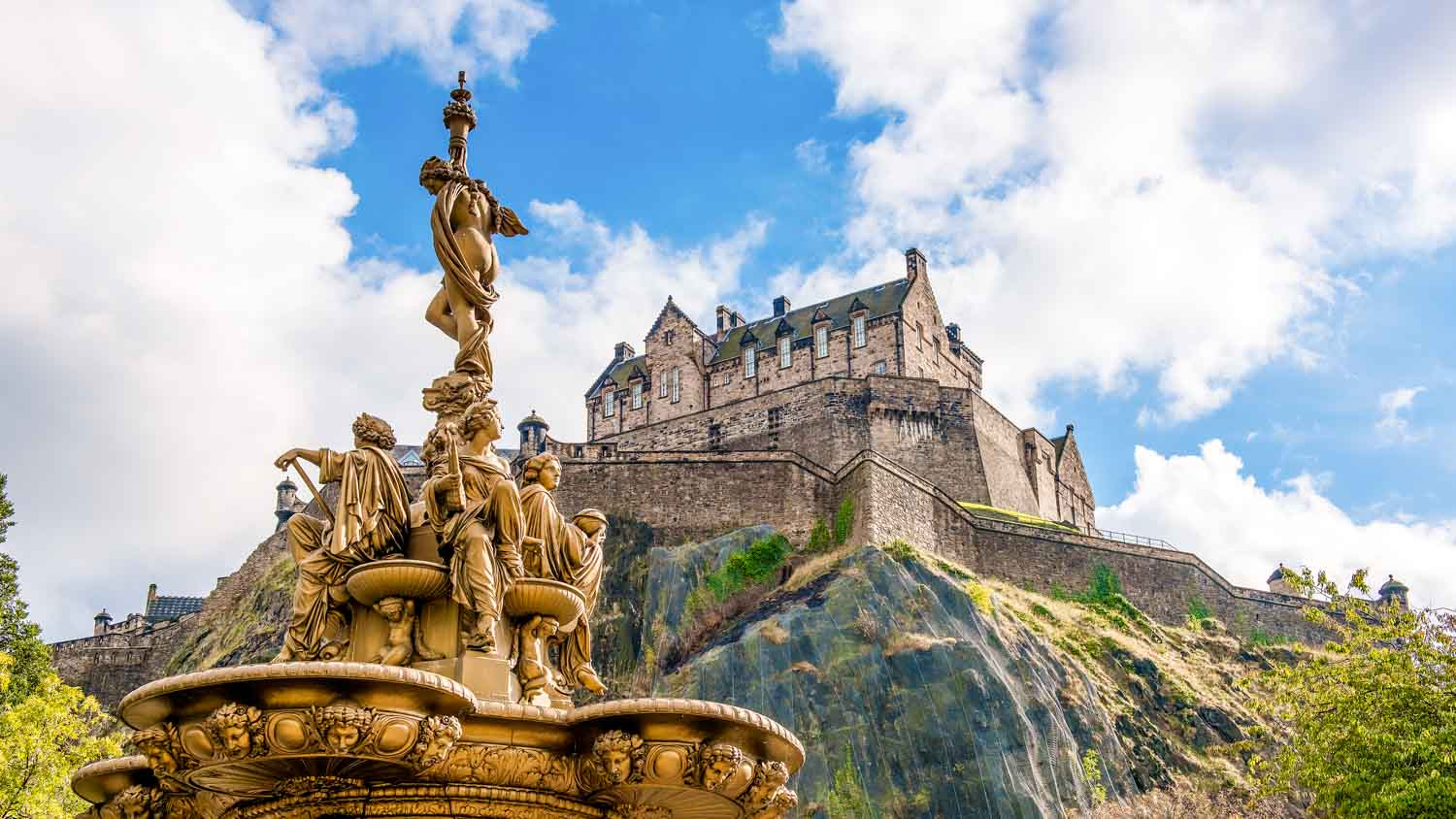 Edinburgh Castle Scotland UK