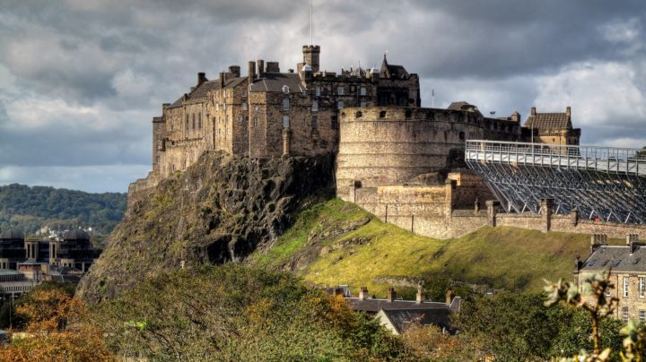 Edinburgh Castle UK