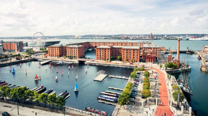 Albert Dock Area Liverpool