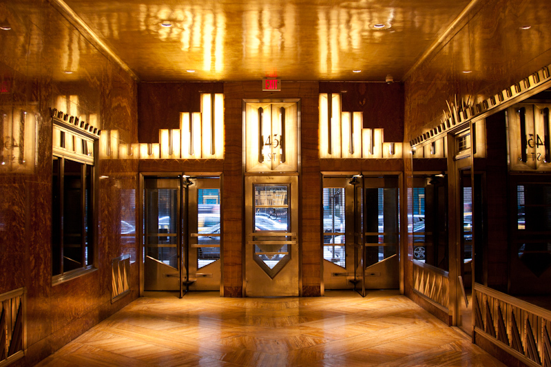 Chrysler Building Inside Entrance