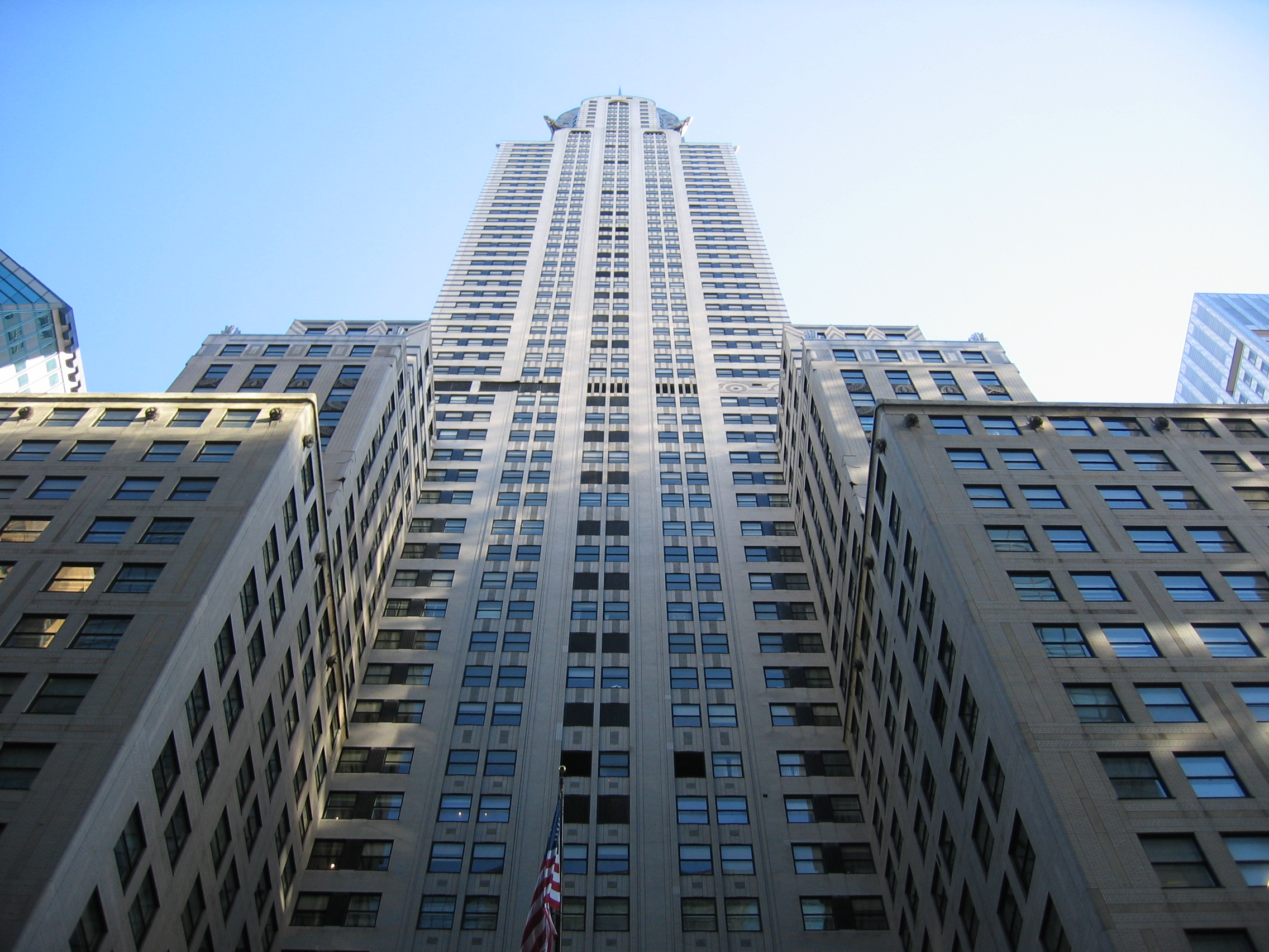 Chrysler Building Photo From Below