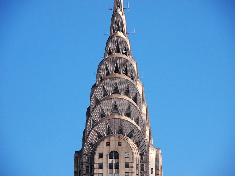 Chrysler Building Top Close Up
