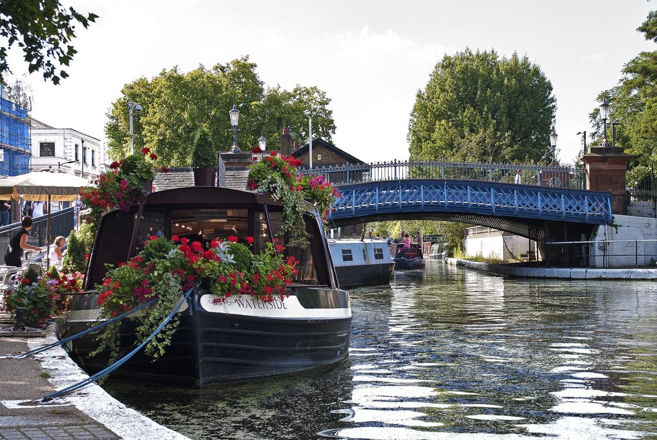 Little Venice Boat Photo