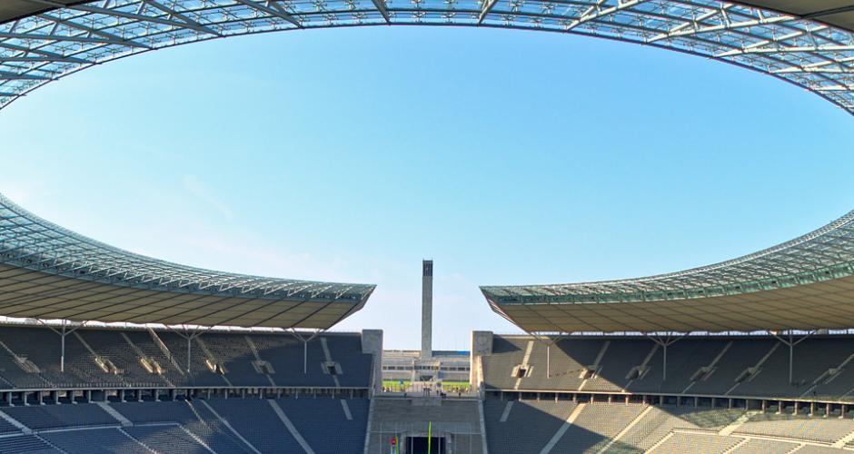 Olympiastadion Berlin Roof