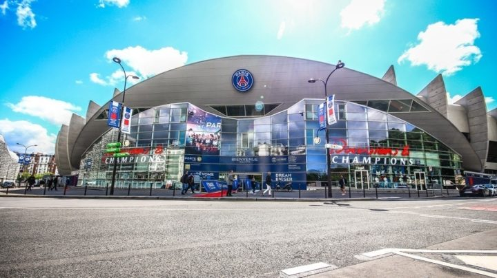 Parc des Princes Stadium Outside Photo