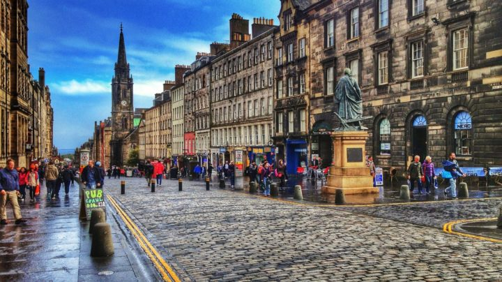 Royal Mile Scotland Photo