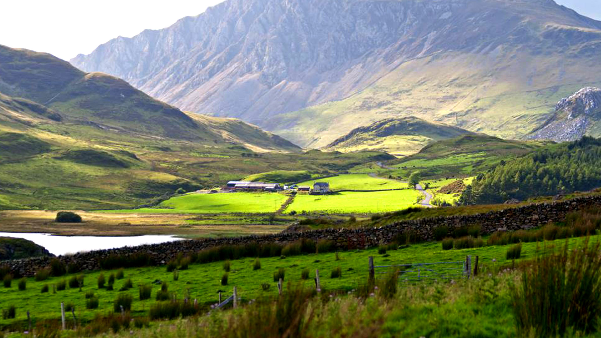 Snowdonia National Park Landscape Photo