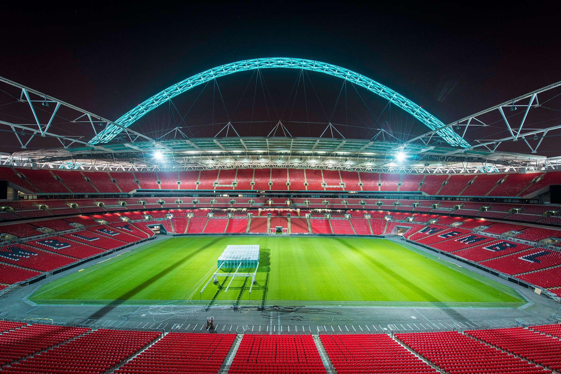 Wembley Stadium Inside Photo