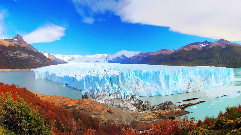 Los Glaciares National Park Beautiful Panorama